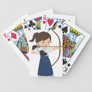 Archer Bicycle Playing Cards