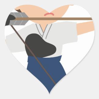 Archer Heart Sticker
