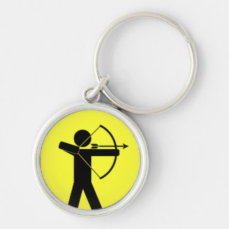 Archer keychain - yellow
