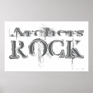 Archers Rock Poster