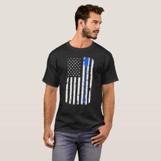 Archery Arrow and American Flag T-Shirt
