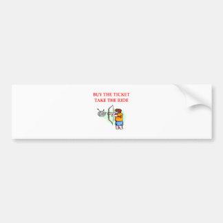 archery bumper sticker