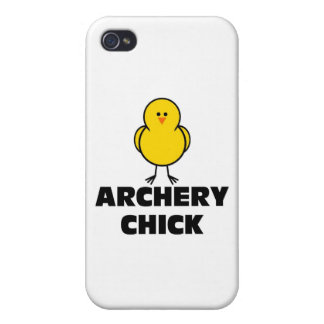 Archery Chick Cover For iPhone 4
