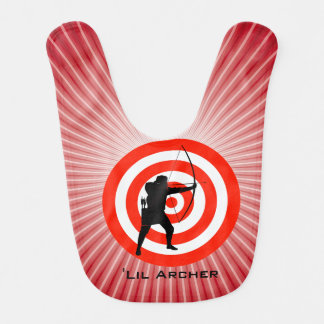 Archery Design Baby Bib