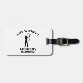 Archery DESIGNS Luggage Tag