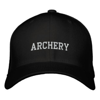 ARCHERY EMBROIDERED HATS