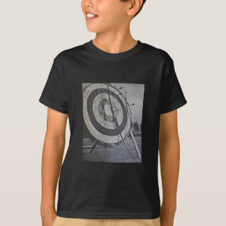 Archery Equipment Kids Black Tee Shirt