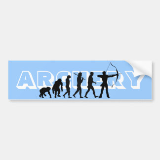 Archery Evolution Sports lovers Bumper Sticker