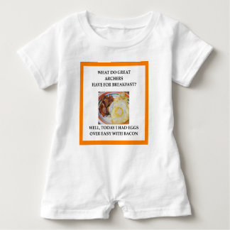 Archery gifts baby romper