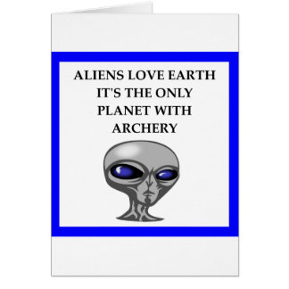 Archery gifts card