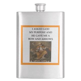 archery hip flask
