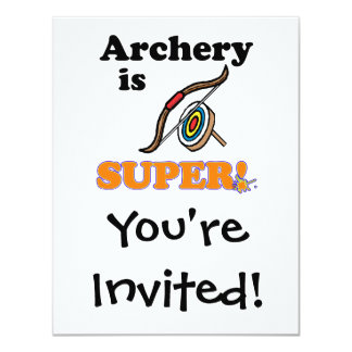 archery is super card