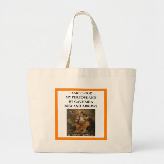 archery large tote bag