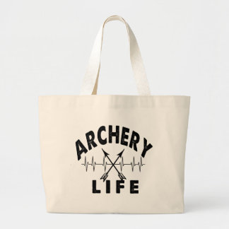 Archery Life Large Tote Bag