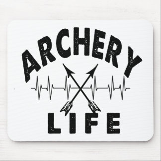 Archery Life Mouse Pad