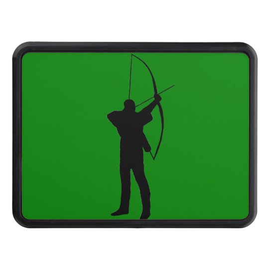 Archery lover's hitch cover