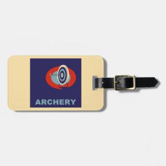ARCHERY LUGGAGE TAG