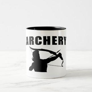 Archery - Male Two-Tone Coffee Mug
