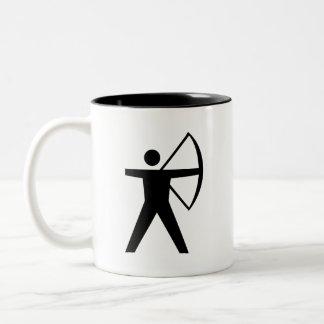 'Archery' Pictogram Mug
