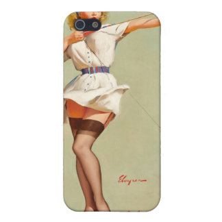 Archery Pin-Up Girl Cover For iPhone 5/5S