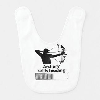 Archery Skills Loading Baby Bibs