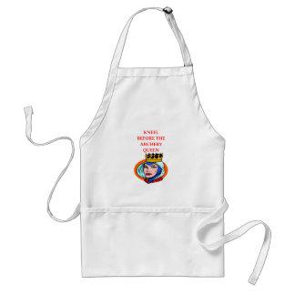 archery standard apron
