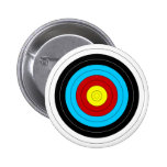 Archery Target 2 Inch Round Button