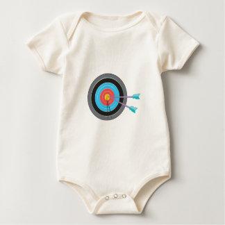 Archery Target Baby Bodysuit