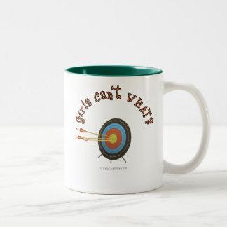 Archery Target Bullseye Coffee Mug