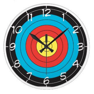 """Archery Target"" design wall clocks"