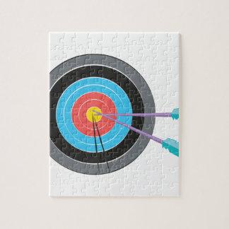 Archery Target Jigsaw Puzzle