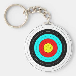 Archery Target Keychain