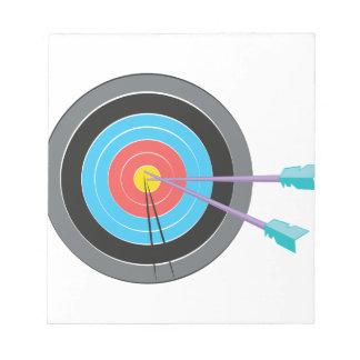 Archery Target Notepads