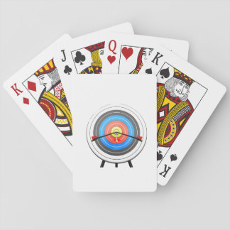Archery Target Playing Cards