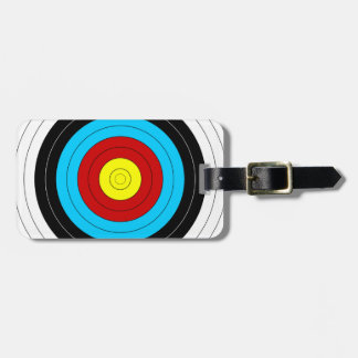 Archery Target Travel Bag Tags