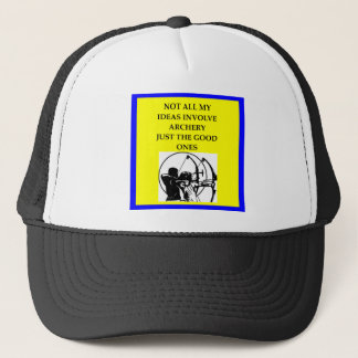 ARCHERY TRUCKER HAT