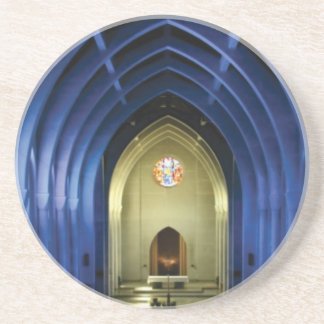 Arches in the blue church coaster