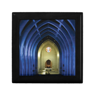 Arches in the blue church gift box