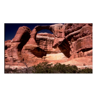 arches national park arches way up high business card