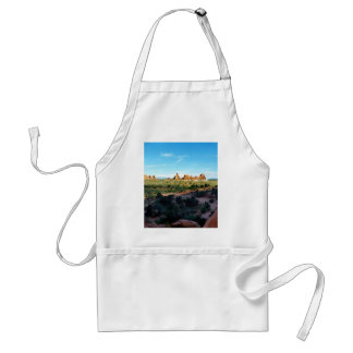 Arches National Park from a distance Standard Apron