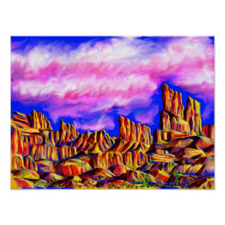 Arches National Park Inspired Poster