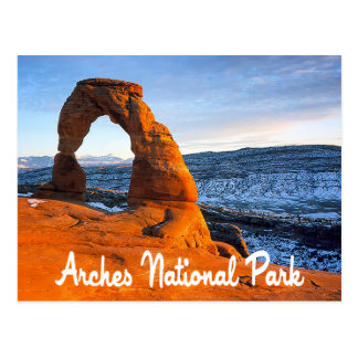 Arches National Park, Moab Utah Postcard