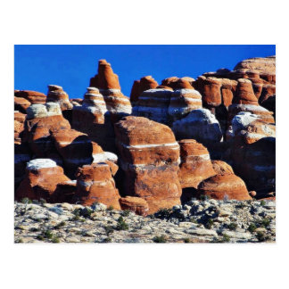 Arches National Park Red Rocks Postcard