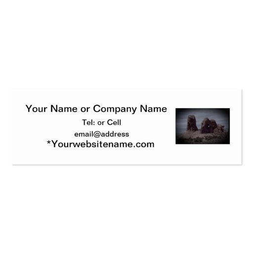Arches National Park Rock Formation Business Cards
