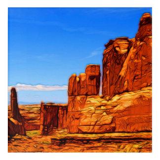 Arches National Park Rocks Acrylic Print