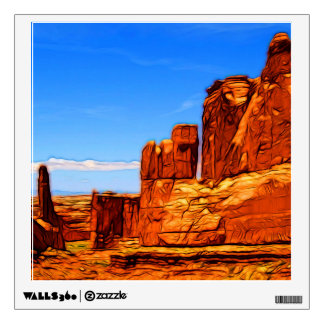 Arches National Park Rocks Wall Sticker