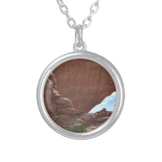 Arches National Park Silver Plated Necklace