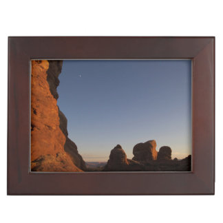 Arches National Park Sunset Keepsake Box