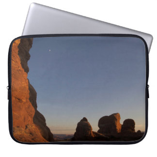 Arches National Park Sunset Laptop Sleeve