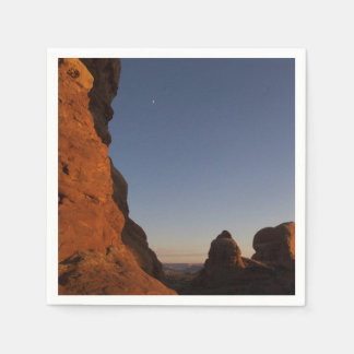 Arches National Park Sunset Napkin